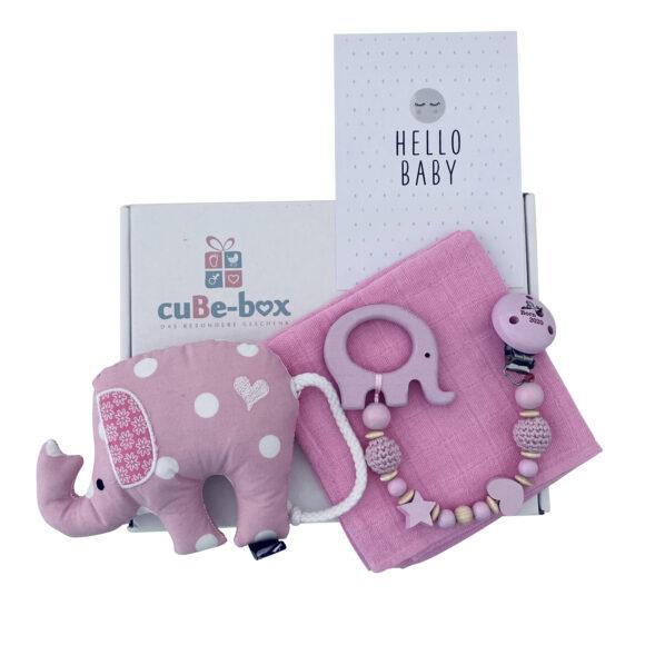 babybox maedchen elefantenrassel rosa beisskette scaled