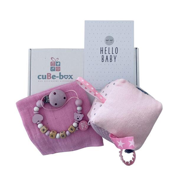 babybox maedchen spielwürfel rosa scaled