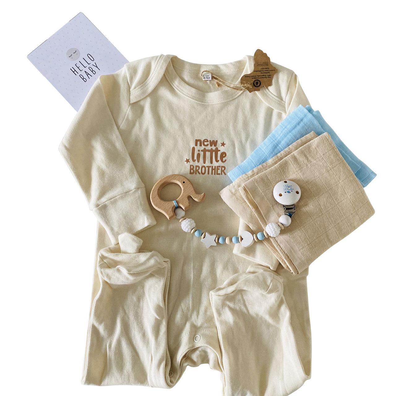 cuBe-box Babygeschenke geschenkset beige