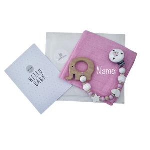 cuBe-box Babygeschenke geschenkset nuscheli