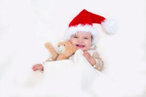 Weihnachtsgeschenke für Babys von cuBe-box.ch